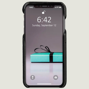 PREORDER + Grip - iPhone Xs Max Leather Case + Ships in 4 weeks .! - Vajacases
