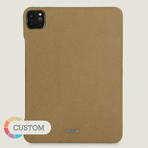 "Custom Grip iPad Pro 12.9"" Leather Case (2020) - Vaja"