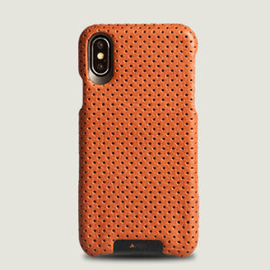 Grip iPhone X / iPhone Xs Leather Case - Vajacases