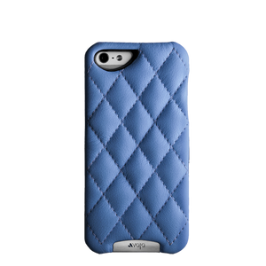 Grip Matelassé - Quilted Leather iPhone SE Case - Vaja