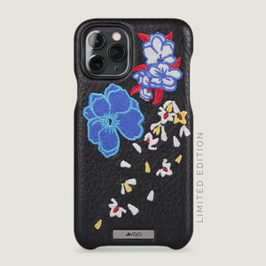 Kimono Grip iPhone 11 Pro Leather Case - Vaja