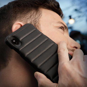 Grip Rider - iPhone X / iPhone Xs Leather Case - Vajacases