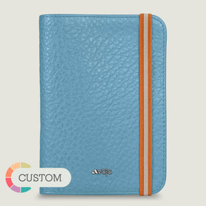 Customizable Alfa Leather Passport Holder - Vaja