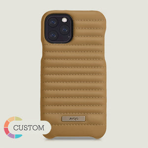 Custom Grip Rider iPhone 11 Pro leather case