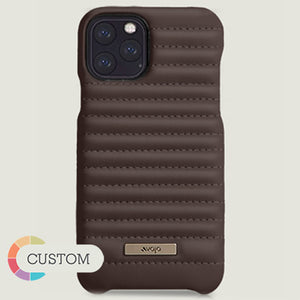 Custom Rider Grip iPhone 11 Pro Max leather case - Vaja