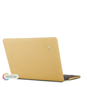"Custom MacBook Pro Touch Bar 15"" Leather Case - Vaja"