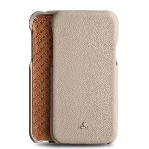 Top iPhone X / iPhone Xs Leather Case - Vajacases