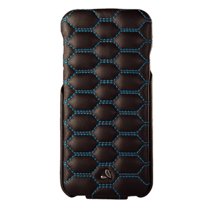 Top Matelasse Quilted Flip Top iPhone 7 leather case - Vajacases