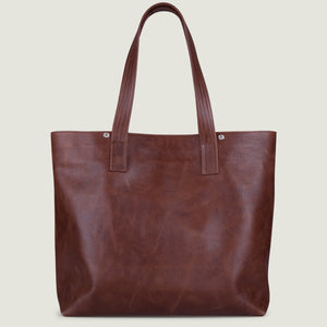 Mora Tote Leather Bag - Vaja