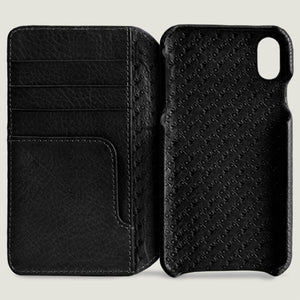 Wallet Agenda - iPhone Xr Wallet Leather Case - Vaja