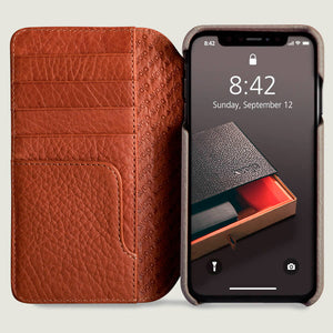 Wallet - iPhone Xs Max Wallet Leather Case - Vajacases