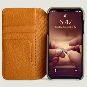 Wallet Agenda - iPhone Xr Wallet Leather Case - Vajacases