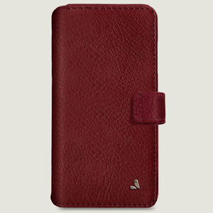 iPhone 11 Pro Max Wallet leather case with magnetic closure - Vaja