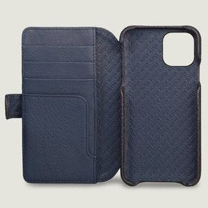 iPhone 11 Pro Wallet Leather Case with magnetic closure - Vaja