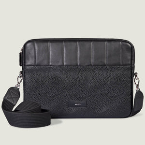 "MacBook Air 13"" Zippered Leather Pouch - Vaja"