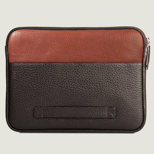 "Zippered iPad Pro 12.9"" Leather Pouch - Vaja"