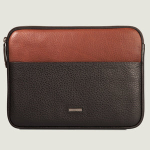 "iPad Air (2020) and iPad Pro 11"" Zippered Leather Pouch - Vaja"