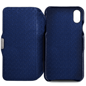 Agenda MG iPhone X / iPhone Xs Leather Case - Vaja