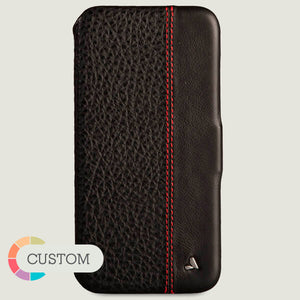 Custom Folio LP iPhone Xs Max Leather Case - Vajacases