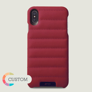 Custom Grip Rider - iPhone X / iPhone Xs Leather Case - Vaja