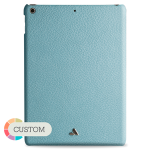"Custom leather Grip for iPad 9.7"" - Vaja"