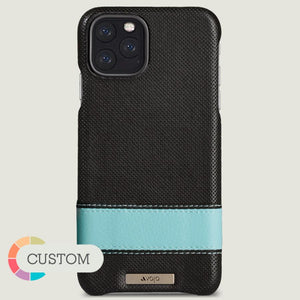 Custom Sailor Grip iPhone 11 Pro Max leather case - Vaja