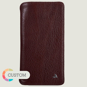 Custom Wallet iPhone Xs Max Leather Case - Vajacases