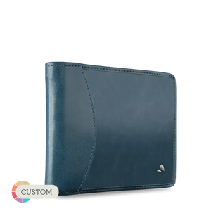 Customizable Euro Wallet - Premium Leather Euro Wallet - Vaja