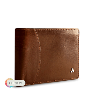 Customizable Dollar Wallet - Premium Leather Bifold Wallet (USD) - Vaja