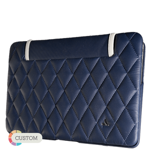 "Matelassé - MacBook Air 13"" Quilted Leather Case - Vajacases"