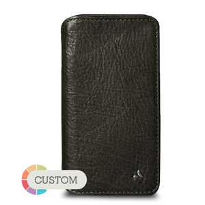 Custom Wallet iPhone X / iPhone Xs Leather Case - Vaja