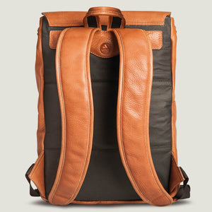 Explorer Leather Backpack - Vaja