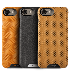 Grip - iPhone 8 / SE Leather Case - Vaja