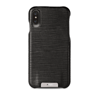 Grip iPhone X / iPhone Xs Leather Case - Vaja