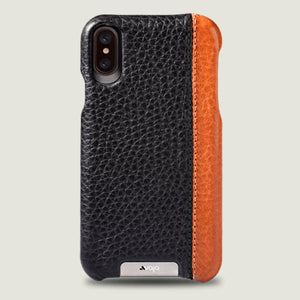 Grip LP iPhone X / iPhone Xs leather case - Vaja