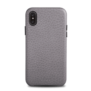 Slim Grip iPhone X Leather Case - Vaja