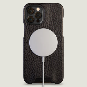 Grip iPhone 12 Pro Max leather case with MagSafe - Vaja