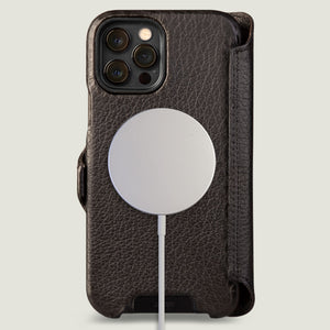 iPhone 12 Pro Max wallet leather case with MagSafe - Vaja