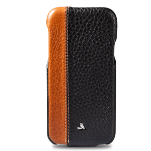 Top LP iPhone X / iPhone Xs Leather Case - Vaja