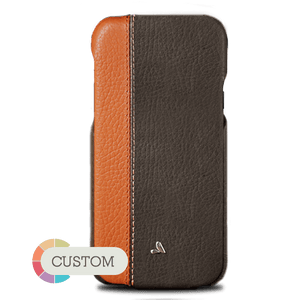 Customizable Top LP iPhone X / iPhone Xs Leather Case - Vaja