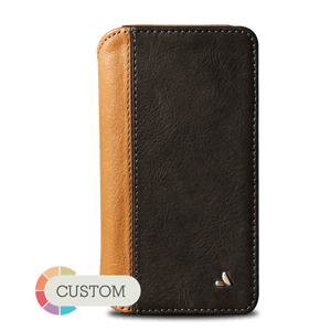Customizable Wallet LP iPhone X Leather case - Vajacases