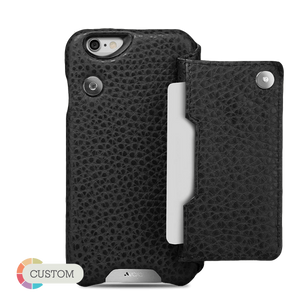 Customizable Niko Wallet - Leather Wallet case for iPhone 6/6s - Vaja