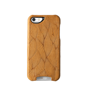 iPhone SE - Embossed Leather Grip Case - Vaja