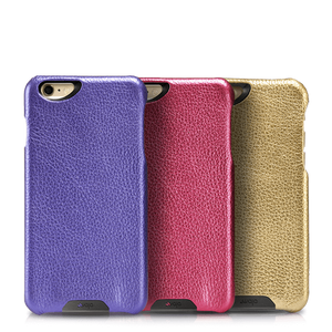 Vintage Metallic Leather Grip - iPhone 6/6s Case - Vaja