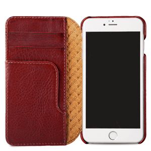 Wallet Agenda - iPhone 7 Wallet Leather Case - Vaja