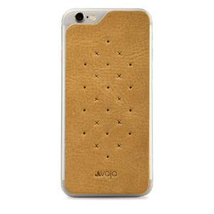 Leather Back - Premium Leather Back for iPhone 6 Plus/6s Plus - Vaja