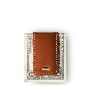 Premium Leather Money Clip - Vaja