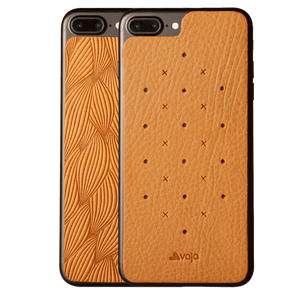 Leather Back for iPhone 7 Plus - Vaja