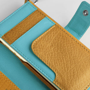 Lola XO - iPhone 6/6s leather Wallet with detachable case - Vajacases