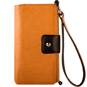 Lola XO - iPhone 8 Plus Wallet leather wristlet case - Vaja